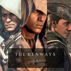The lovely Kenways ♡ #assassinscreed
