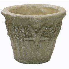 15-in x 12-in Desert Sand Concrete Planter   Lowes