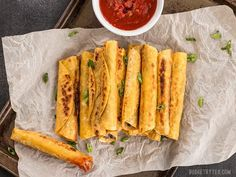 Creamy Black Bean Taquitos are an easy, tasty, and inexpensive appetizer for football parties or just for fun! Step by step photos.