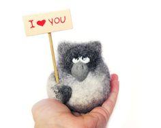 Personalised gifts Felt doll Handmade toys Needle от VladaHom