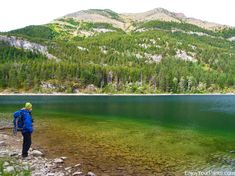 Crandell Lake Trail in Waterton Lakes National Park. Includes the Top Things To Do In Waterton Lakes National Park. Waterton Park, Waterton Lakes National Park, National Parks, Things To Do, Trail, Hiking, Mountains, Nature, Things To Make