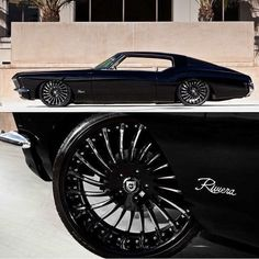 Black 1972 Riviera On lexaniofficial Wheels - http://bit.ly/20Pjchi