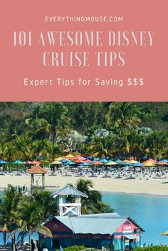Want the biggest and best collection of #DisneyCruiseTips and hacks ever? After spending months at sea on Disney cruises we wanted to provide the most comprehensive list of Disney cruise tips to our readers.