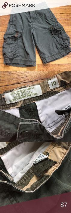 Boys cargo shorts Olive green boys cargo shorts. Old Navy Bottoms Shorts
