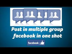 Post in multiple facebook group quickly without any software - ChillyFacts #facebook #page #share #multiple Software, Group, Facebook