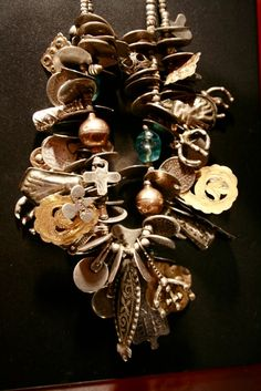 north african charms of gold, silver and glass by JEWELS Santa Fe/Marrakech