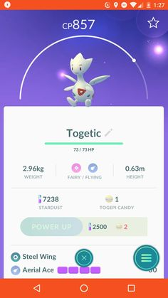 I may not have a complete Kanto pokedex but as of a few minutes ago and a whole lot of walking I have the rarest pokemon of them all!