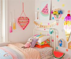 Colour me happy kids rooms
