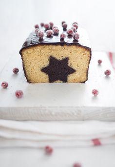 festive surprise cake