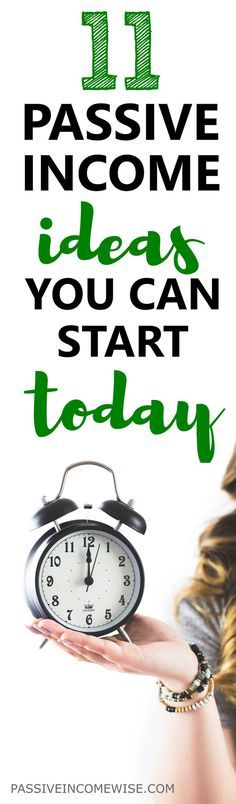 This list of passive income ideas will let you make money while you sleep. You will be able to spend more time with your kids and reach financial freedom. How to make passive income, make money while you sleep,  work from home jobs, passive income ideas,