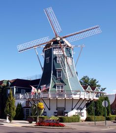 Lynden, Washington, A Quaint Dutch Town in the Pacific Northwest.  Whatcom County.
