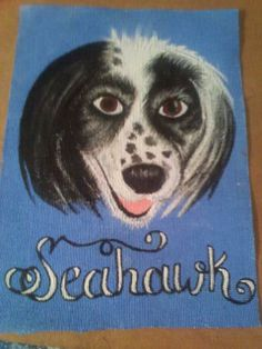 Memorial to my dog Seahawk. I had him 17 years. He was 18 when he died, January 31-2014.