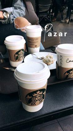 Bebidas Do Starbucks, Starbucks Drinks, Starbucks Coffee, Hot Coffee, Coffee Drinks, Coffee Time, Fake Instagram, Story Instagram, Instagram And Snapchat