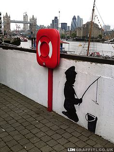 Banksy, London street art 000
