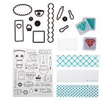 Diamond Press In The Kitchen Stamps Dies Inks And Folders Card Making Supplies Sewing Crafts Book Making