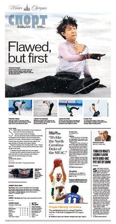 Sports, Feb. 15, 2014.