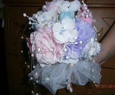 букет невесты (из шелка)