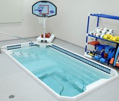 small home pool for water therapy