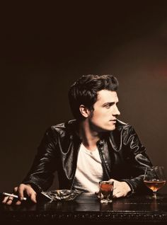 josh hutcherson (in this hard core look) as Theo Sayer