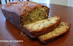 Forkful of Comfort: Banana Nut Bread