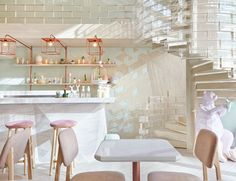 Sweet Interior Design for a Dessert Place