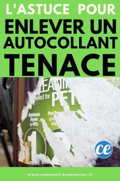 Vous devez enlever un autocollant sur une voiture, le frigo ou du bois ? Essayez cette astuce avec de l'huile de coco et du bicarbonate de soude. Vous verrez, fini les traces tenaces !