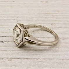 I love these vintage rings from Erstwhile Jewelry Co. I imagine this one could have been worn in the Game of Thrones series :)
