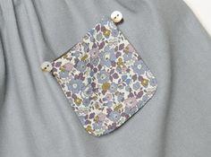 Jupe Alouette poche interchangeable - Les Enfantines