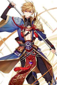 Новости 7 Knight, Seven Knight, Anime Warrior, Fantasy Warrior, Fantasy Character Design, Character Art, Fantasy Characters, Anime Characters, Knight Outfit