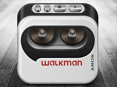 Sony-wallman- this is another blast from the bast they have manged to capture the walkman- the attention to details giving it a nice smooth shape,