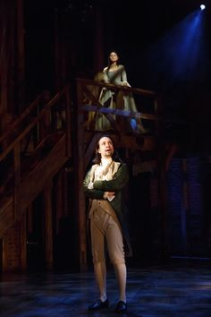 Photo 9 of 9 | Daveed Diggs as Marquis de Lafayette, Okieriete Onaodowan as Hercules Mulligan, Anthony Ramos as John Laurens/Phillip Hamilton, and Lin-Manuel Miranda as Alexander Hamilton in Hamilton | Hamilton Off Broadway Show Photos | Broadway.com