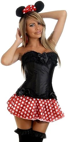 the violet vixen mini mouse black corset costume 8000 http - Corsets Halloween Costumes