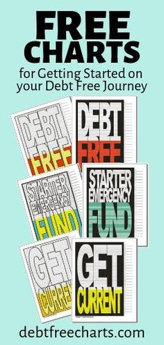 These FREE visual charts will keep you motivated to reach your debt free goals. Mortgage Repayment Calculator, Debt Repayment, Debt Payoff, Debt Tracker, Tracker Free, Mortgage Quotes, Mortgage Tips, Debt Snowball Worksheet, Goals Printable