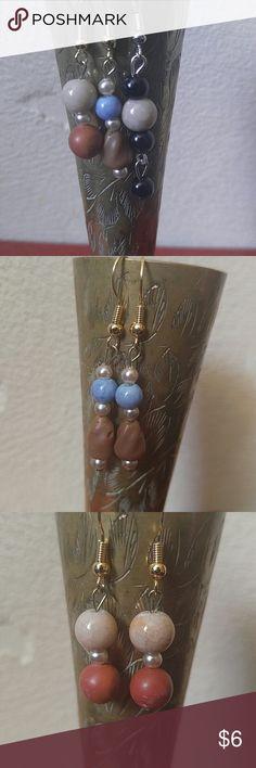 Set of Three Earrings Brand new set of three earrings. Dangle earrings.  Set #20 Jewelry Earrings