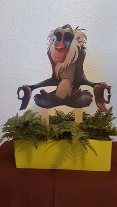 The Lion Guard Table Centerpiece.