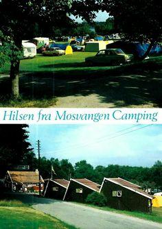 Rogaland fylke Stavanger Hilsen fra Mosvangen Camping 1970-tallet
