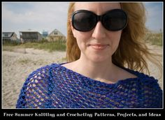 Free Summer Knitting and Crocheting Patterns, Projects, and Ideas