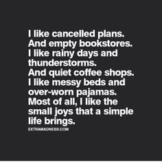 This could not describe me MORE!!!! So ME