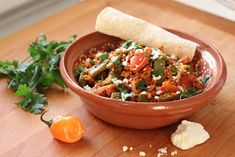 Chorizo Con Huevos y Nopalitos (Eggs with Chorizo and Cactus)