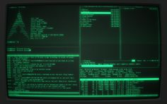 CRT monitor [Arch].