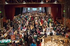 Seedy Sunday 2013 by stevebustin, via Flickr - It was busy!!