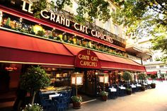 Le Grand Cafe Capucines, Paris very near opera garner, not expensive, high rating. Lunch before or dinner after the ballet Sunday afternoon Restaurants In Paris, Restaurant Paris, Great Restaurants, Best Vacation Destinations, Best Vacations, Vacation Spots, Paris Travel, France Travel, Travel