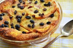 Holland America's Bread and Butter Pudding With Vanilla Sauce (Photo: photogal/ Shutterstock)