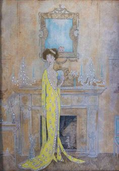 Cecil Beaton.  Portrait of Lucie Rosen.