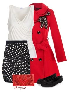 """""""Christmas outfit!!"""" by maryam098 ❤ liked on Polyvore featuring Armani Collezioni, Emanuel Ungaro and Balmain"""