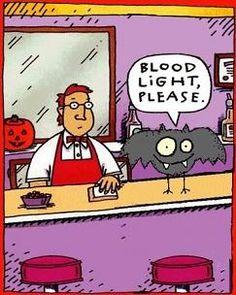 Blood Light Please....