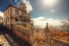 Abandoned home in Madeira, Portugal.  Amazing views of the ocean...I'll take it in a heartbeat!!