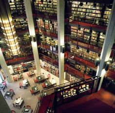Thomas Fisher Rare Book Library, University of Toronto, Canada. Library University, University Of Toronto, Beautiful Library, Dream Library, Library Bookshelves, Bookcases, World Library, Library Architecture, Somerset