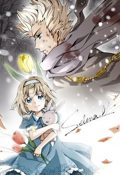 Willem and Anouk (head-canon names for Netherlands and Belgium respectively) - Art by いざいた★臨巳 on Pixiv, found via Zerochan