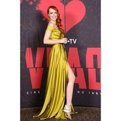 VIP & PRESS - Alina Cernatescu #alinacernatescu #romaniandesigner #couture #eveningwear  #dress #vip #asseenon  #actress #olimpiamelinte #redcarpet Vip, Red Carpet, Actresses, Couture, How To Wear, Dress, Instagram, Design, Style